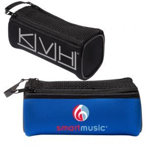 Tech Accessory Mesh Top Mini Duffel Bag