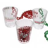 2 Oz. Christmas Shot Glasses
