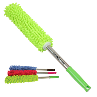Chenille Duster With Metal Handle