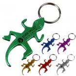 Lizard Shaped Bottle Opener Key Chain