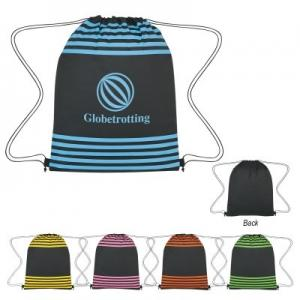 Striped Drawstring Sports Pack