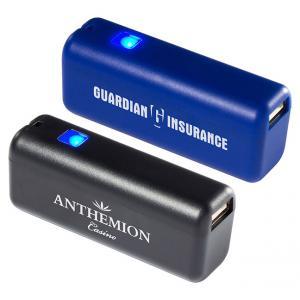Mini Pocket Sized 2200mAh Power Bank Phone Charger