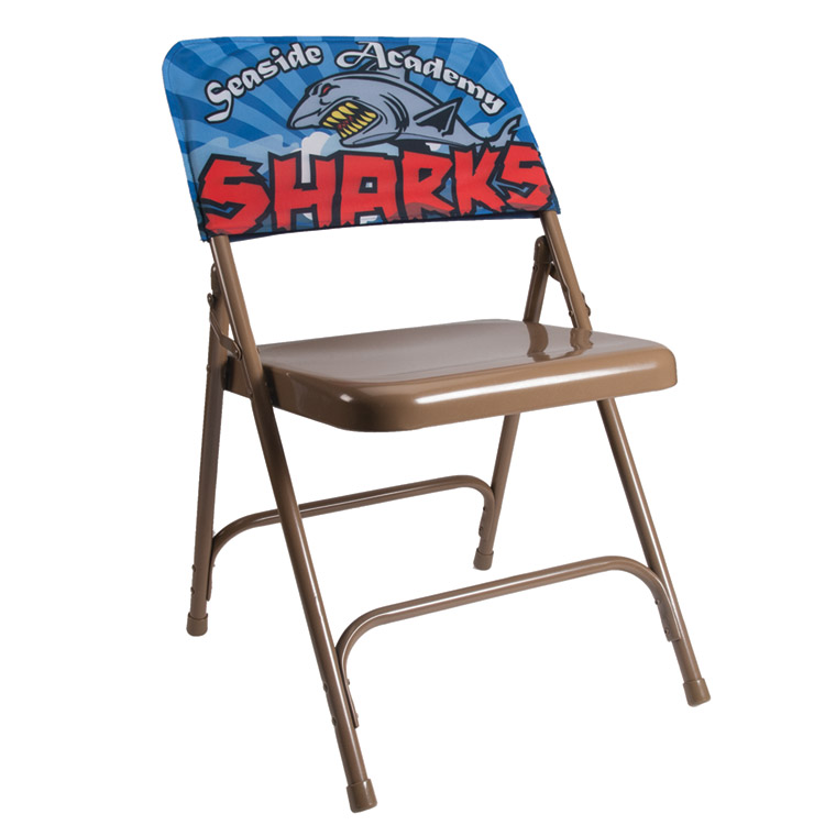 Full Color Polyester Chair Back Covers