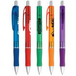 Bright Translucent Color Retractable Pen