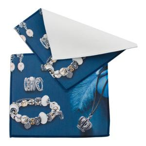 Microfiber + Metal - Jewelry Polishing/Cleaning Cloth