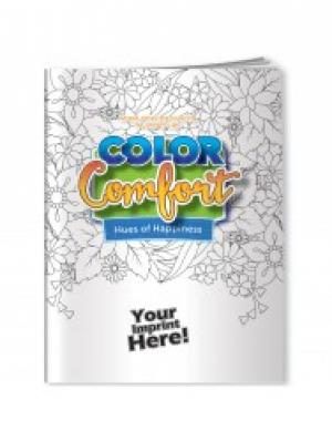 Color Comfort Hues of Happiness Adult Coloring Book
