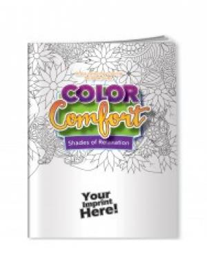 Color Comfort Shades of Relaxation Adult Coloring Book