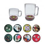 Casino Themed Compartment Coffee Mug
