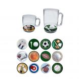 Sports Themed Compartment Coffee Mug