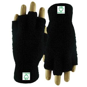 Fuzzy Fingerless Gloves (Fusion DigiPrint)