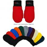 Applique Fleece Mittens (Fusion DigiPrint)
