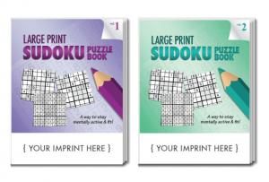 Large Print Sudoku Puzzle Book