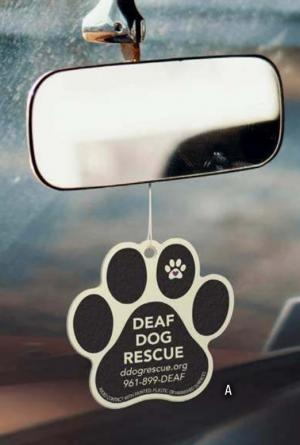 Smells Great! Paw Shaped Air Freshener