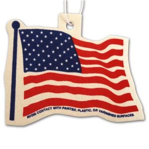 Smells Great! Flag Shaped Air Freshener