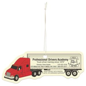 Smells Great! Semi Truck Shaped Air Freshener