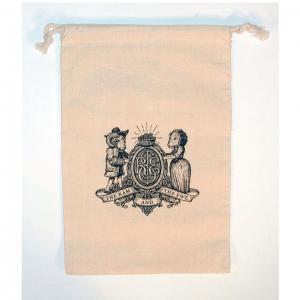 "8"" x 12"" 100% Natural Cotton Drawstring Bag"