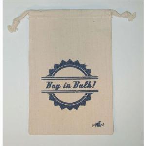 "6"" x 9"" 100% Natural Cotton Drawstring Bag"