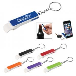Bottle Opener/Phone Stand Key Chain