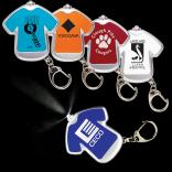 T-Shirt Shaped Keychain Light