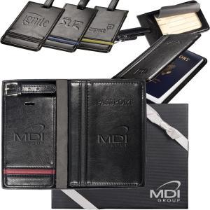 Alpha Luggage Tag & Passport Wallet Set