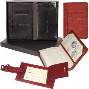 Whitney Peconic Passport & Luggage Tag Set
