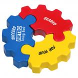 3-Piece Gear Puzzle Stress Reliever