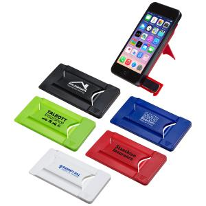 Smart Phone Wallet w/ Phone Stand & Screen Cleaner