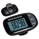 Easy See Pedometer w/ Clock