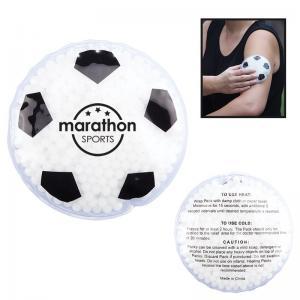 Soccer Ball Shaped Hot/Cold Gel Packs