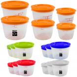 Round Portion Control Containers