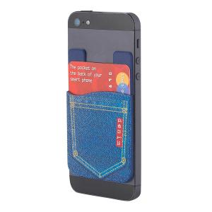 Denim Cellphone Wallet Pocket