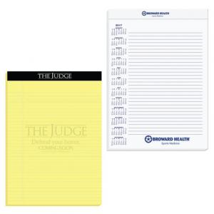 "8 1/4"" x 11 3/4"" Legal Pads with Imprinted Sheets"