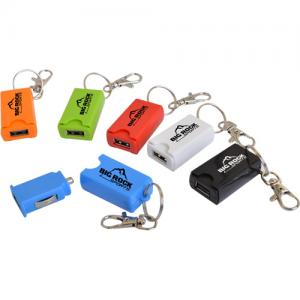 USB Car Charger Keychain