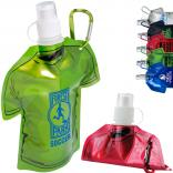 16 oz. T-Shirt Collapsible Water Bottle