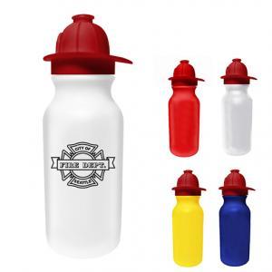 FireMan Hat Water Bottle