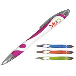 Turnup Click Pen with a Full Color Imprint