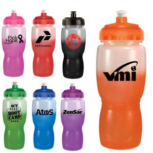 Color Changing 18oz. Bottle with Push&Pull Cap