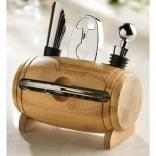 Bamboo Barrel Wine Set