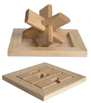 Fun Star Wood Puzzle Toy