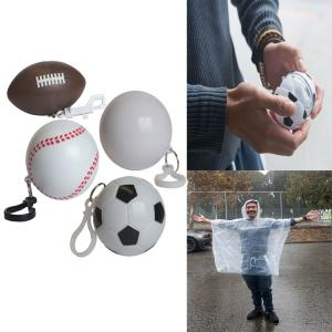 Light-Weight Poncho in Sports Ball