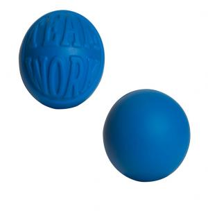 Embossed Team Work Squeezable Ball