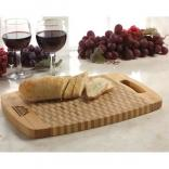 Checkered Pattern Bamboo Cutting Board
