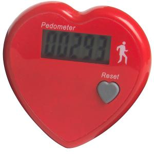 LCD Healthy Heart Pedometer
