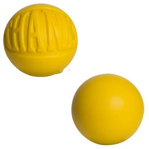 Embossed Thanks Squeezable Ball