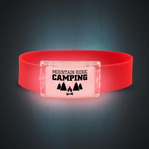 Fire Silicone LED Wrist Band