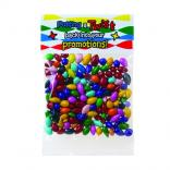1 oz Chocolate Covered Sunflower Seeds in Custom Header Bags