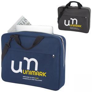 Slim Briefcase with Removable Shoulder Strap
