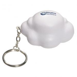 Cloud Stress Reliever Keychain