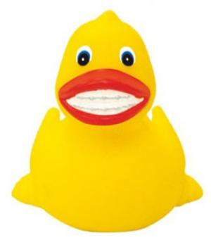 Rubber Duck with Braces