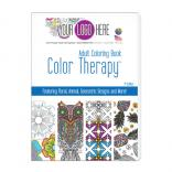 Full Color Decal 'Color Therapy' Adult Coloring Book